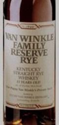 Van Winkle Family Reserve Rye